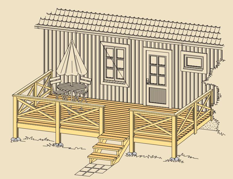 Terrassi asukoha planeerimine ja määramine