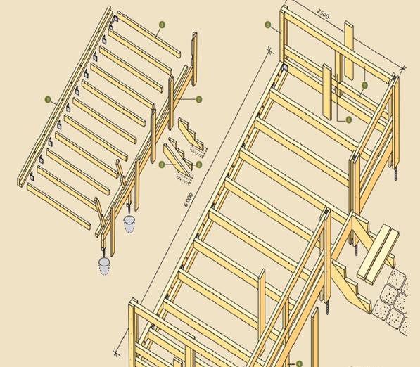 Terrassi ehitus ja materjal